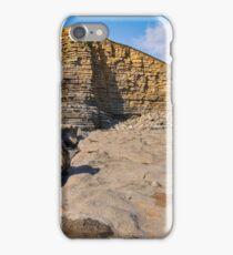 Nash Point, Welsh Jurassic Coast iPhone Case/Skin