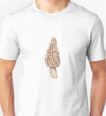 Morchella rufobrunnea (White Morel) Unisex T-Shirt