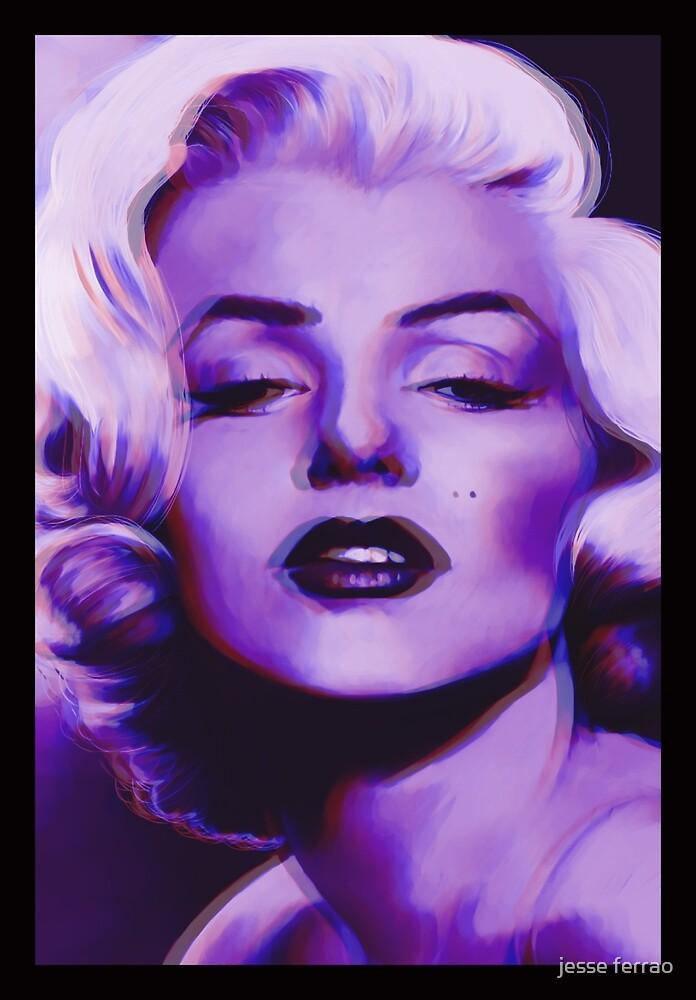Marilyn Monroe 3D effect by TateTamer
