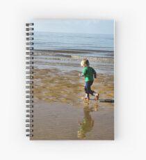 Shore run Spiral Notebook