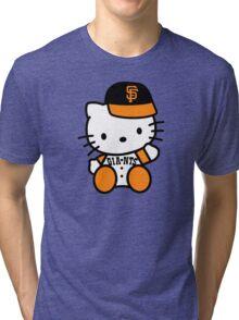 hello kitty san francisco giant Tri-blend T-Shirt