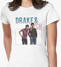 retro drake & josh. Womens Fitted T-Shirt