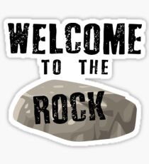 Welcome To The Rock (Come From Away) Sticker