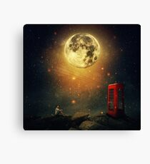 The Cosmic Call Canvas Print