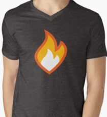 Flammable Men's V-Neck T-Shirt