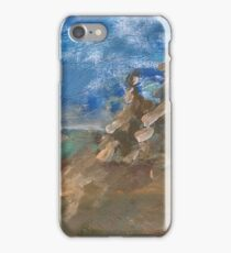 Abstract landscape VI iPhone Case/Skin