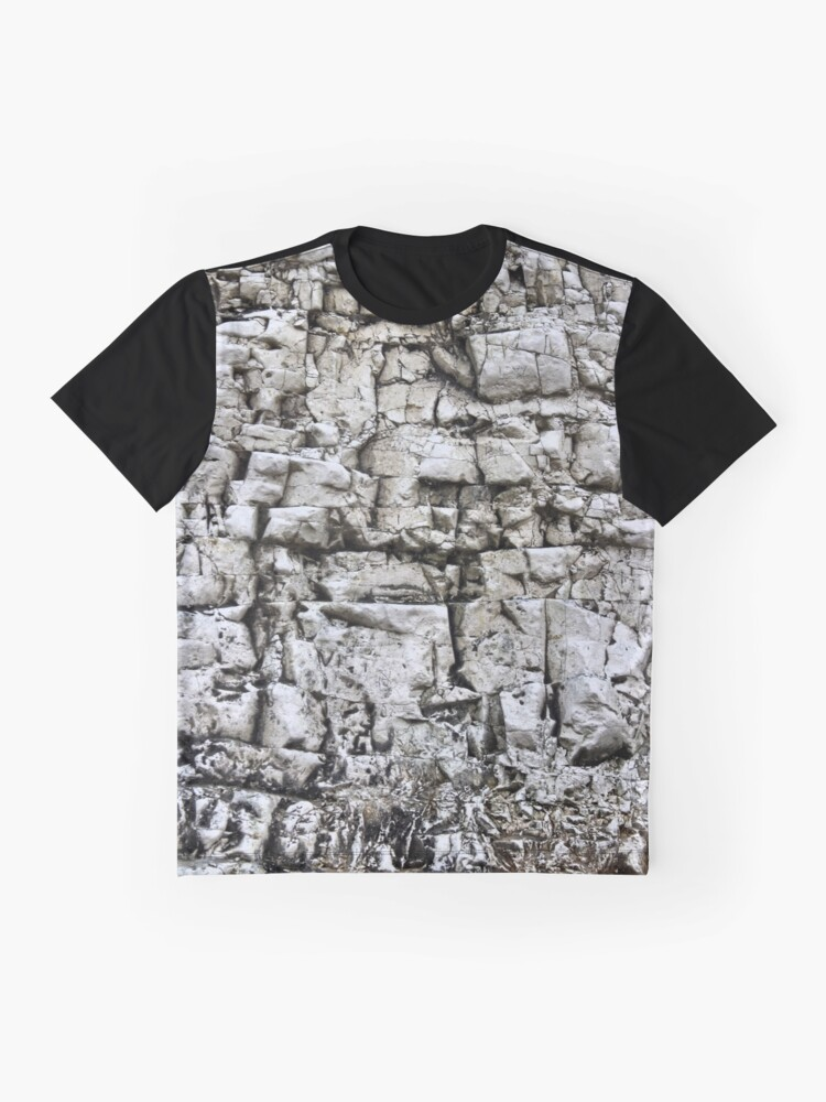 Alternate view of White cliffs Graphic T-Shirt