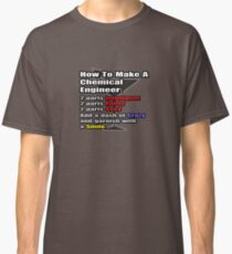 Funny Chemical Engineer Cocktail  Classic T-Shirt