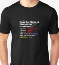 Funny Chemical Engineer Cocktail  Unisex T-Shirt