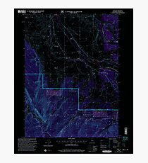 USGS TOPO Map Colorado CO Rand 234206 2000 24000 Inverted Photographic Print