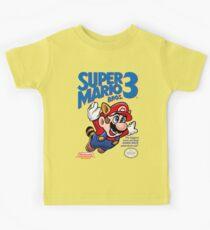 Mario 3 Kinder T-Shirt
