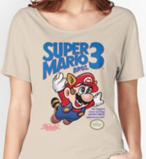 Mario 3 Women's Relaxed Fit T-Shirt