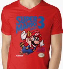 Mario 3 Men's V-Neck T-Shirt