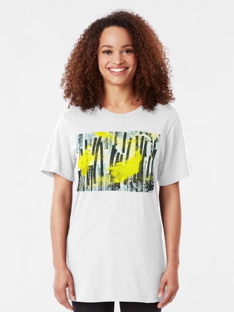 Alternative Ansicht von Jahrestagung der zitronengelben Waldfeen Slim Fit T-Shirt