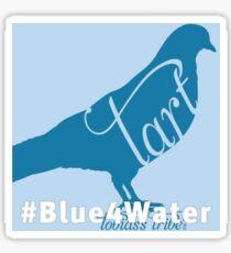 Blue 4 Water Pigeon Sticker