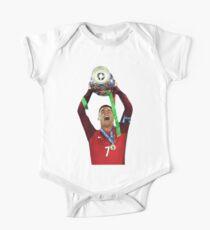Cristiano Ronaldo Euro 2016 Champ One Piece - Short Sleeve
