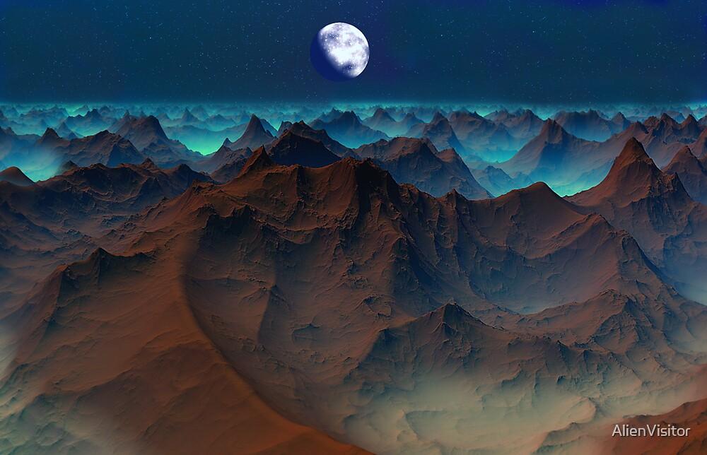 Badlands - Kraken Tor. by AlienVisitor