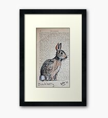 Blackberry - Watership Down Collection Framed Print