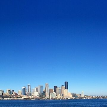 Cloudless Seattle by csmarshall