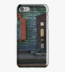 Grunge Wooden House Door Outdoors iPhone Case/Skin