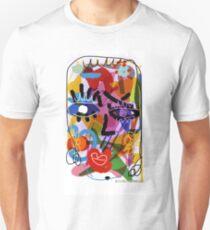 "Digital Drawing ""FACE"" Unisex T-Shirt"