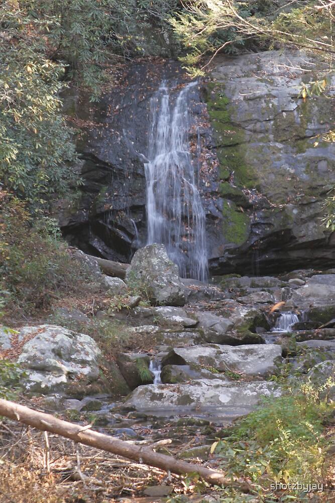 Smoky Mountain Waterfall by shotzbyjay