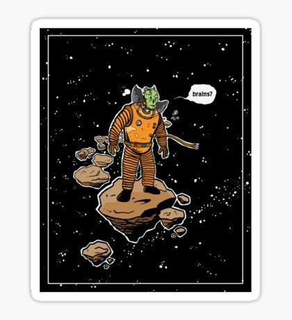 Astrozombie Sticker
