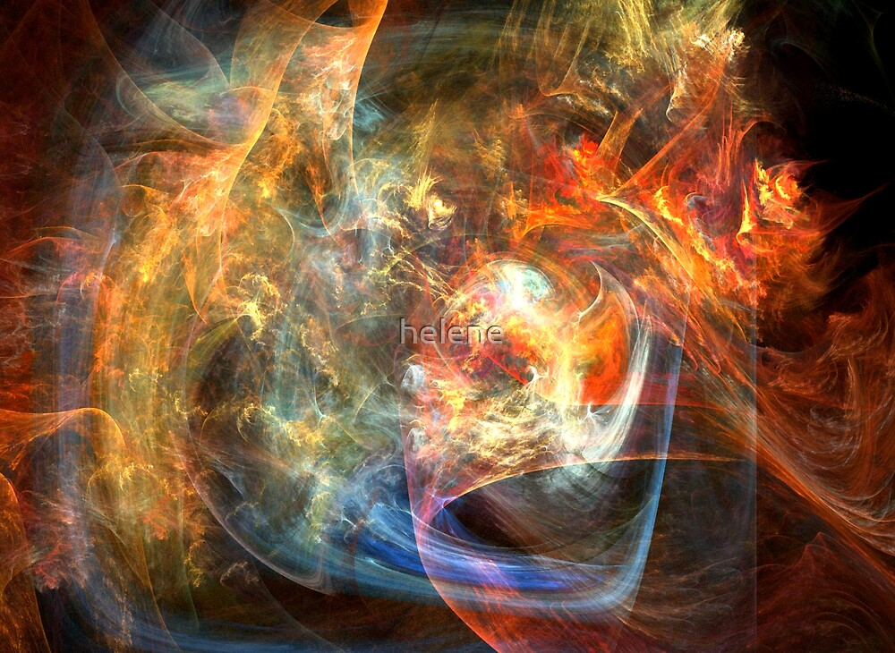 Cosmic fire by helene