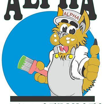 Alpha feild services logo by theslig