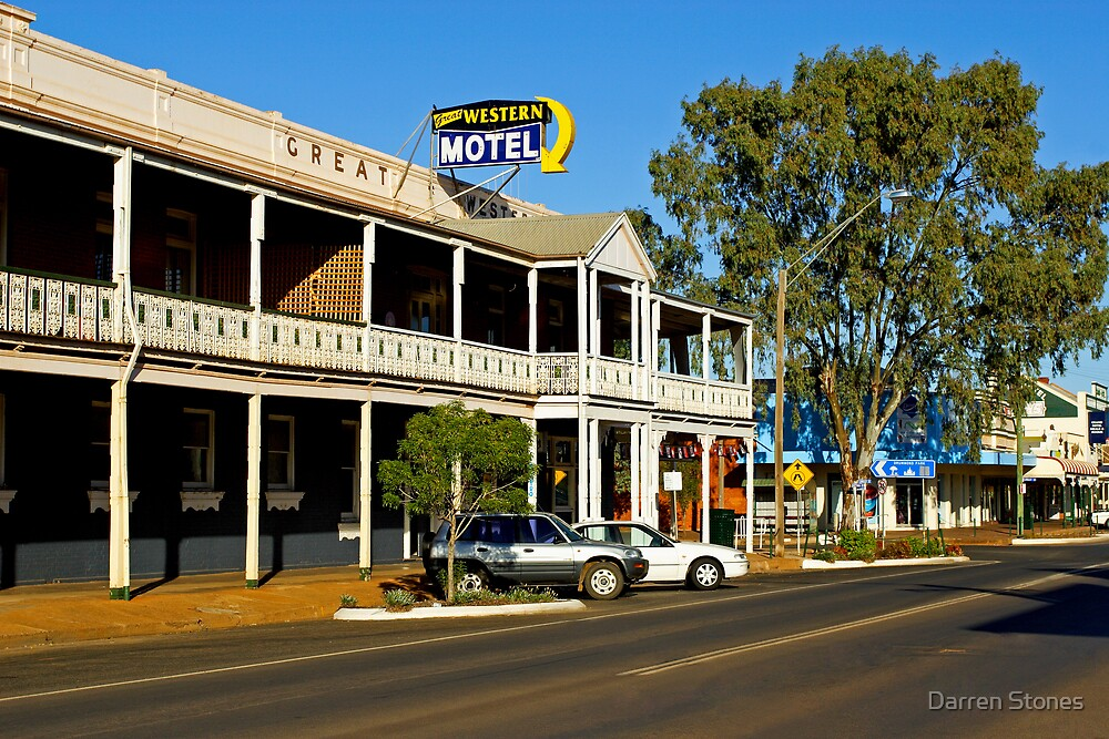 Great Western Hotel at Cobar by Darren Stones