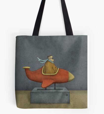 Road to Nowhere - Triptych Panel No. 3 Tote Bag