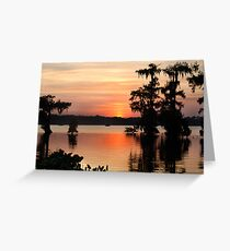 Painted Sky Painted Waters Greeting Card
