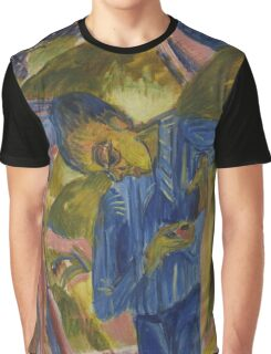 Ernst Ludwig Kirchner - Boy With Sweets 1918 Graphic T-Shirt