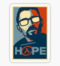Half Life Hope Sticker