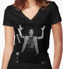Shameless Women's Fitted V-Neck T-Shirt