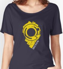 Section 9 (large logo) Women's Relaxed Fit T-Shirt