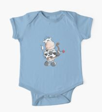 Cupid Cow One Piece - Short Sleeve