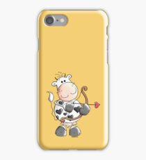 Cupid Cow iPhone Case/Skin