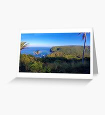 Pololu Valley--Wide Angle Greeting Card