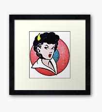 Devil Girl Framed Print