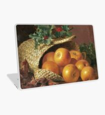 Eloise Harriet Stannard - Still Life With Apples, Hazelnuts And Holly Laptop Skin