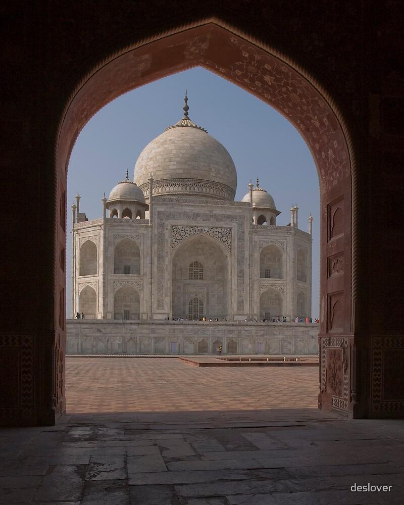 Taj Mahal by deslover