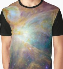 Orion Nebula Space Photograph Universe Galaxy Graphic T-Shirt