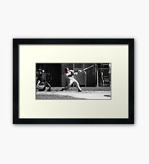 Ball Game Framed Print