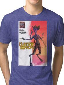 Space alien Tri-blend T-Shirt