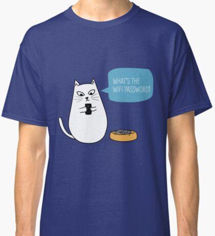 Wifi Cat Classic T-Shirt