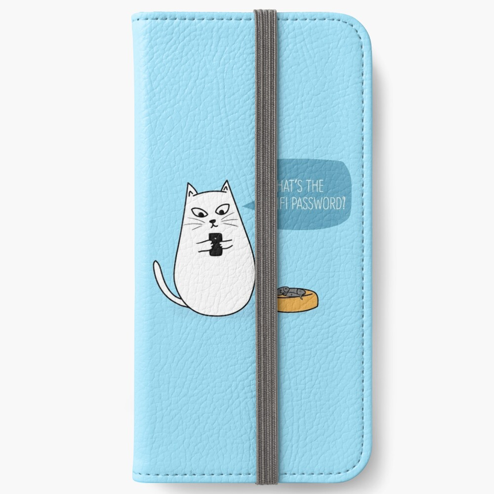 Wifi Cat iPhone Wallet