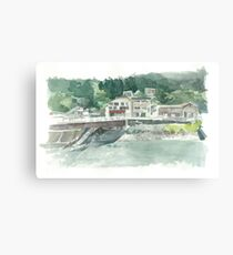 River front Canvas Print