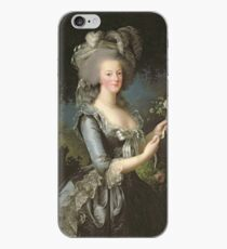 Elisabeth Louise Vigee - Lebrun - Marie Antoinette (1755 ) With A Rose iPhone Case