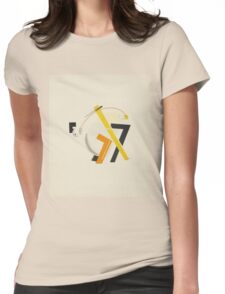 El Lissitzky - Old Man, His Head Two Paces Behind Womens Fitted T-Shirt